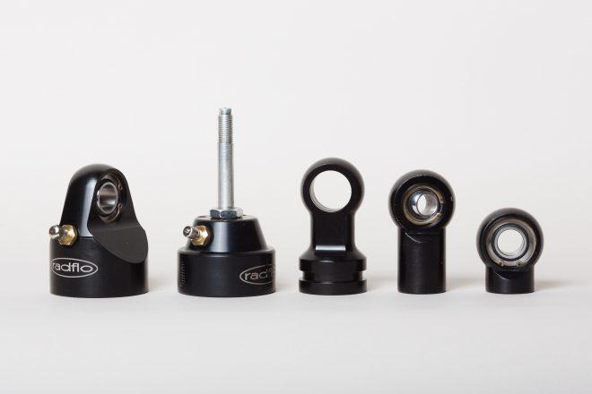 Diverse Ersatzteile für Stoßdämpfer