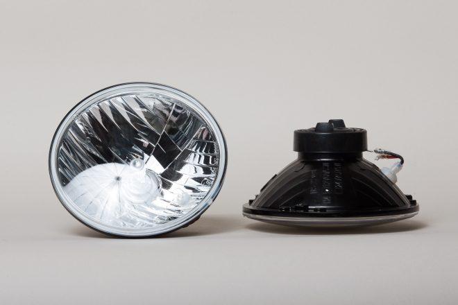 Klarglas-Scheinwerfer für Defender