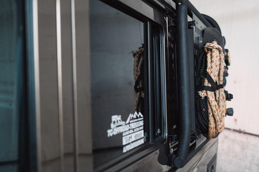 Externer Außen-Überroll-Käfig für Land Rover Defender
